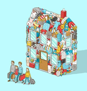 'Packing up is peeling away the onion layers of our personal history.'