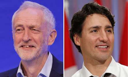 Canadian Prime Minister Justin Trudeau has cynically continued many of his Conservative predecessor's policies, while UK Labour leader Jeremy Corbyn now stands within reach of government with a redistributive agenda.