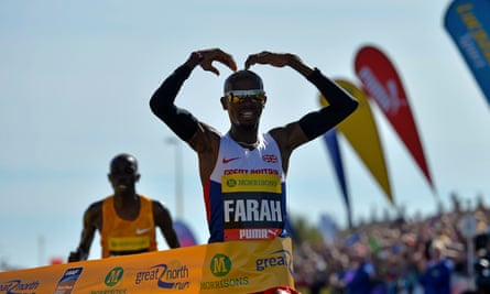 Mo Farah has won the Great North Run for the past two years