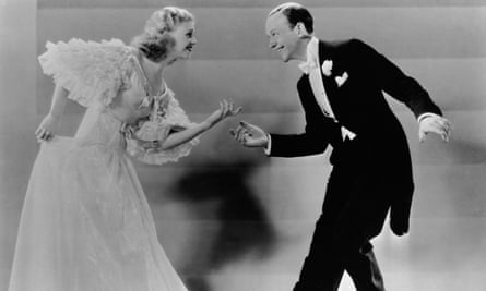 Ginger Rogers and Fred Astaire in Top Hat.
