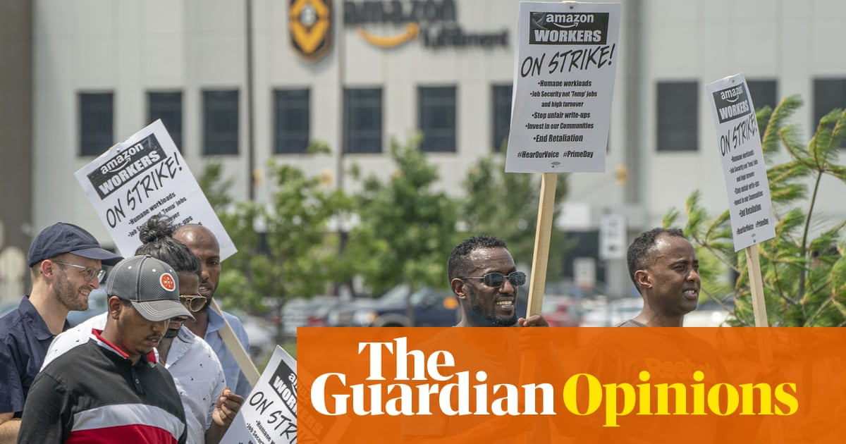 Amazon employees in Minneapolis are fighting for better conditions. And it's working | Spencer Cox