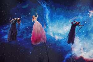Tel Aviv, Israel Australia's Kate Miller-Heidke performs during rehearsals on the eve of the final of the Eurovision Song Contest