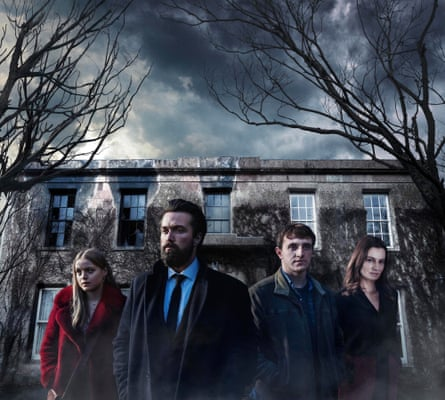 The Deceived with (from left) Emily Reid, Emmett Scanlan, Paul Mescal and Catherine Walker