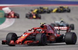 Raikkonen sets another fastest lap.