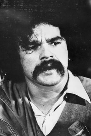 The US government continues to see him through the prism of a bygone age ... López Rivera pictured in 1973. Photograph: Bettmann
