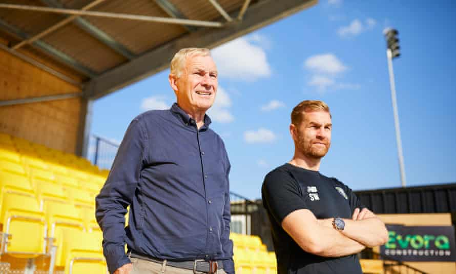 Irving and Simon Weaver are looking forward to Harrogate's Carabao Cup tie against Tranmere on Saturday