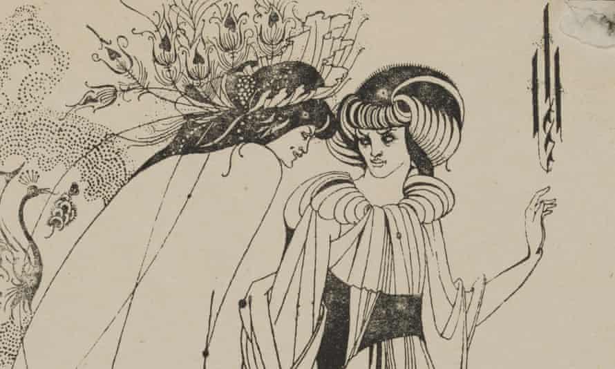 Aubrey Beardsley's The Peacock Skirt