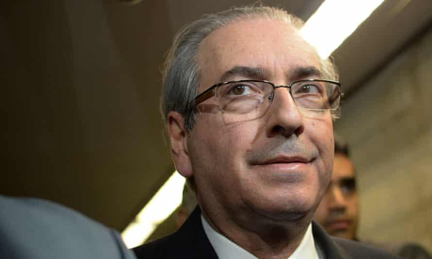 Eduardo Cunha, speaker of Brazil's lower house,