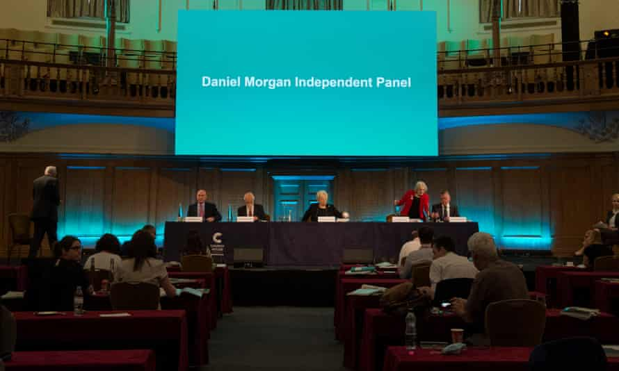 The panel of the fifth inquiry into the murder of Daniel Morgan