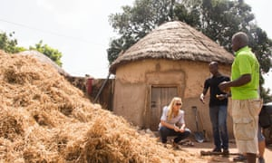 A small-scale farm in sub-Saharan Africa