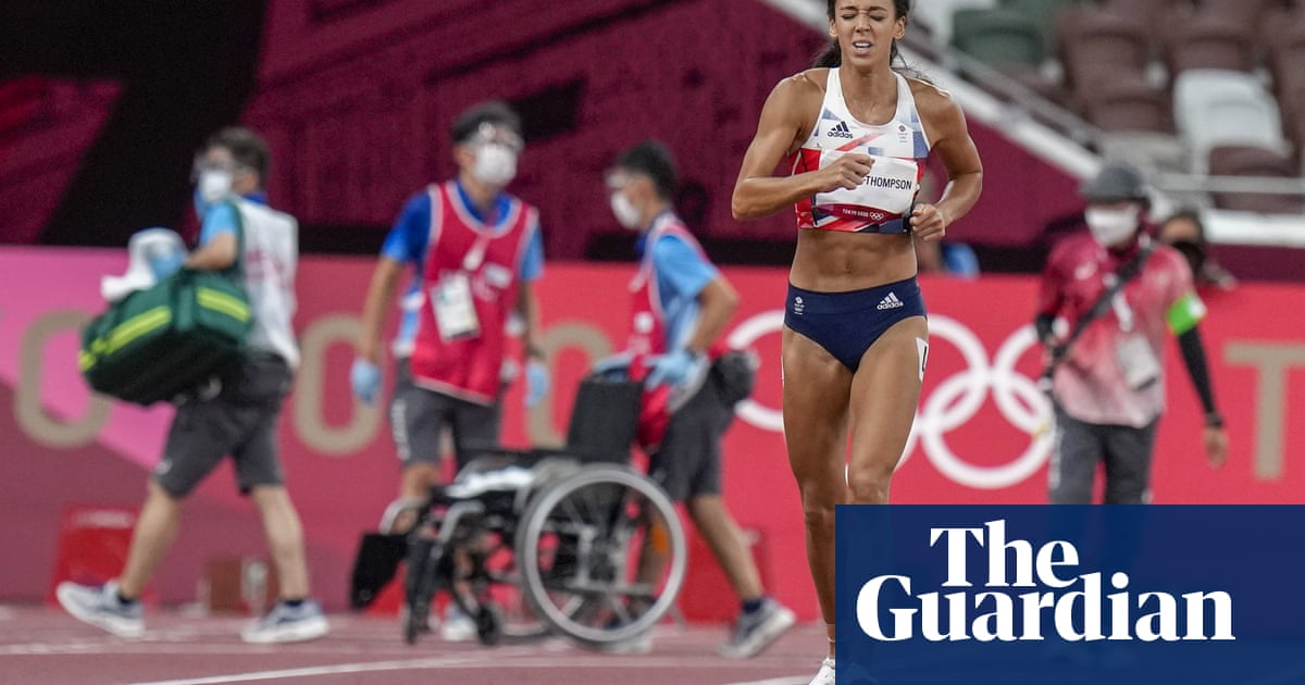 'I wasn't leaving in a wheelchair': Johnson-Thompson on Olympics agony