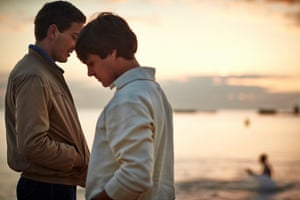 Ryan Corr and Craig Stott in Holding The Man (2015), directed by Neil Armfield