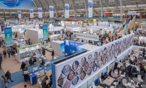 London book fair 2019 at Olympia. (Photo by Sam Mellish/In Pictures via Getty Images)