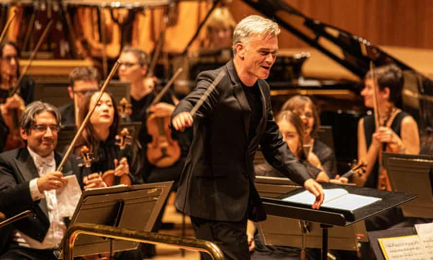 Exuberance … the London Philharmonic Orchestra with conductor Edward Gardner.