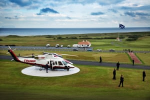 Donald Trump lost his legal battle last year over the impact of Vattenfall's windfarm on his Aberdeen Bay golf course.