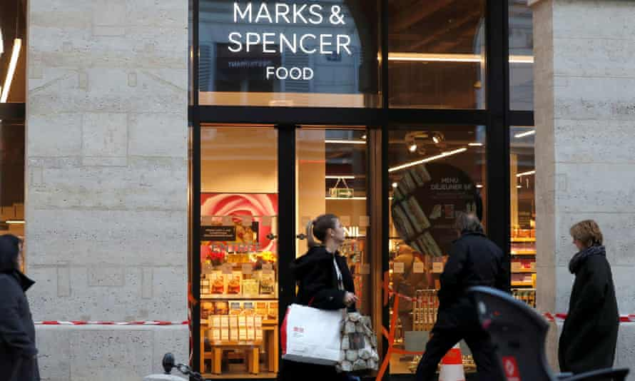 Marks & Spencer store in Paris