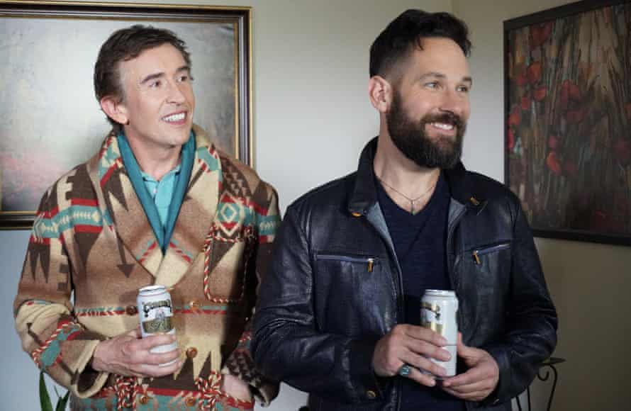 Steve Coogan and Paul Rudd in the 'wearying' Ideal Home