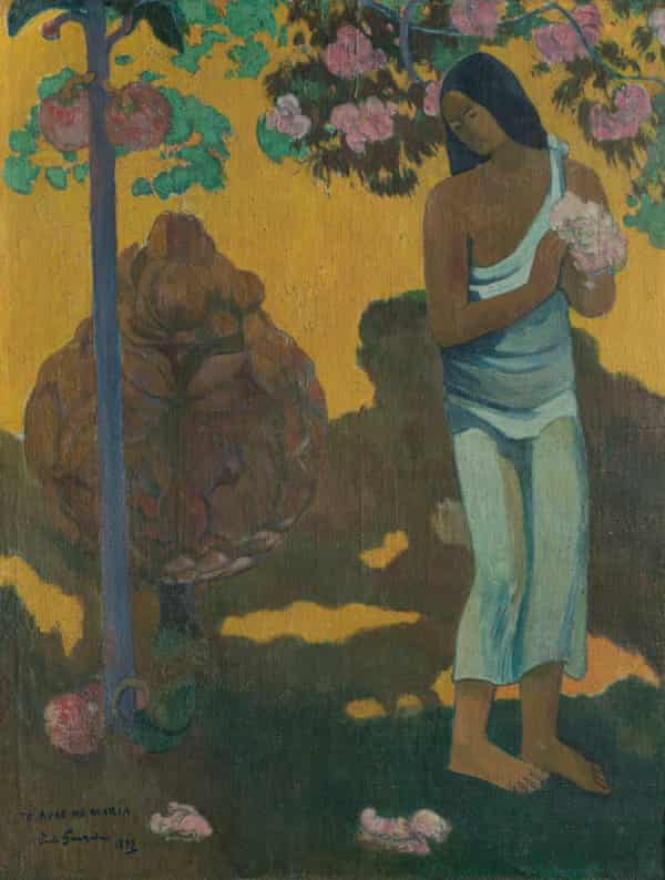 The Month of Mary (Te Avae no Maria) by Paul Gauguin, 1899, oil on canvas.