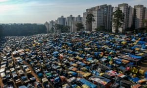The occupation of MTST, the homeless workers' movement of São Paulo