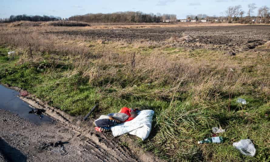 Roadside in Calais