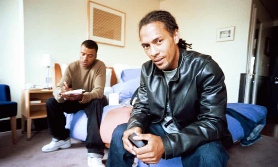 Roni Size, right, and Dynamite MC in 2000.