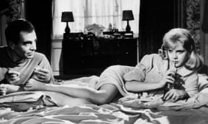 James Mason and Sue Lyon in Stanley Kubrick's 1962 film of Lolita.
