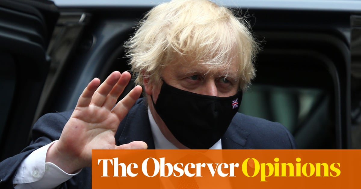 Johnson is no Machiavelli: his ruthless streak serves only himself