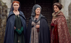 Keeley Hawes as Elizabeth, Judi Dench as Cecily and Phoebe Fox as Anne.