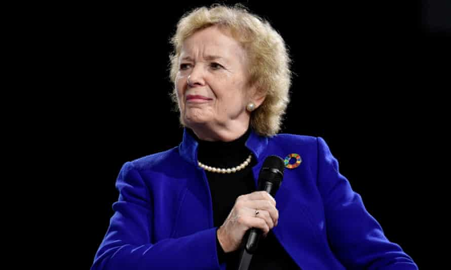 Mary Robinson at COP 25 in Madrid in December