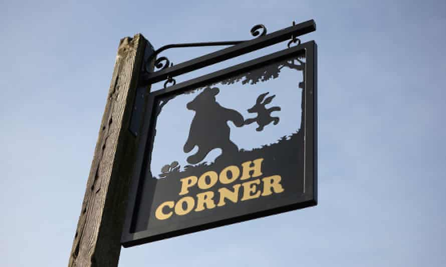 Pooh Corner, near the Forest Way in East Sussex.