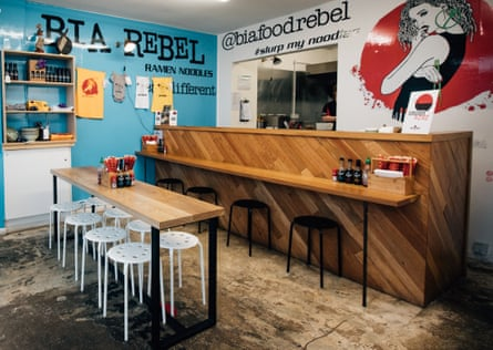 'Winner of the best cheap eats gong in the Observer Food Monthly awards': Bia Rebel, Belfast.