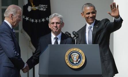barack obama merrick garland supreme court