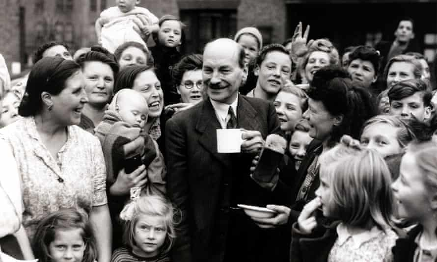 Clement Attlee during his time as deputy prime minister during the wartime coalition government. Labour's postwar social settlement was largely accepted by the Conservatives.