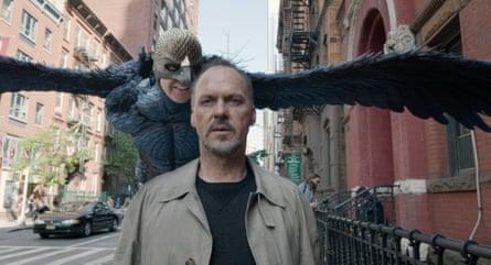 Actor Michael Keaton in Birdman (2014)
