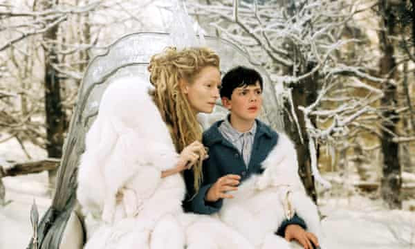 A still from the 2005 film adaptation of The Chronicles of Narnia: The Lion, the Witch and the Wardrobe.