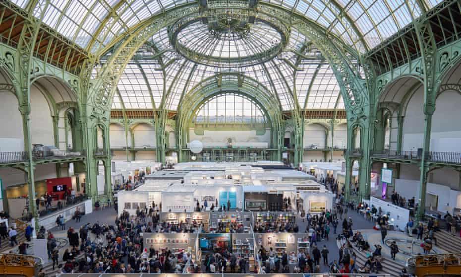 Paris Photo art fair at the 'magnificent' Grand Palais.
