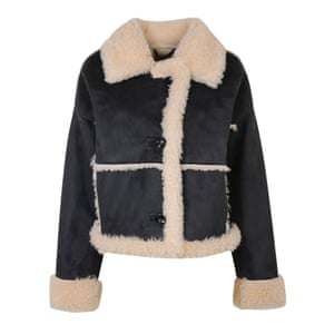 Faux shearling trimmed, £85, urbanoutfitters.com.