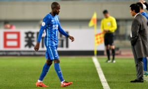 Ramires signed for Jiangsu Suning from Chelsea in January.