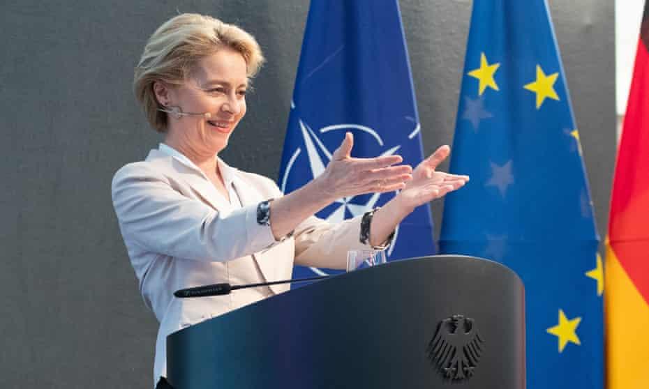 Ursula von der Leyen is the German defence minister.