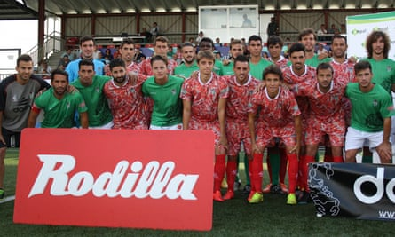 CD Guijuelo in their new away kit, inspired by a local culinary treasure.