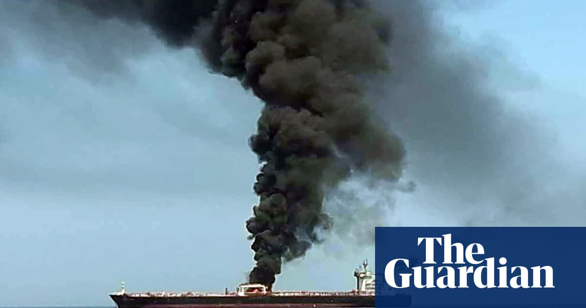 Two oil tankers attacked in Gulf of Oman | World news | The