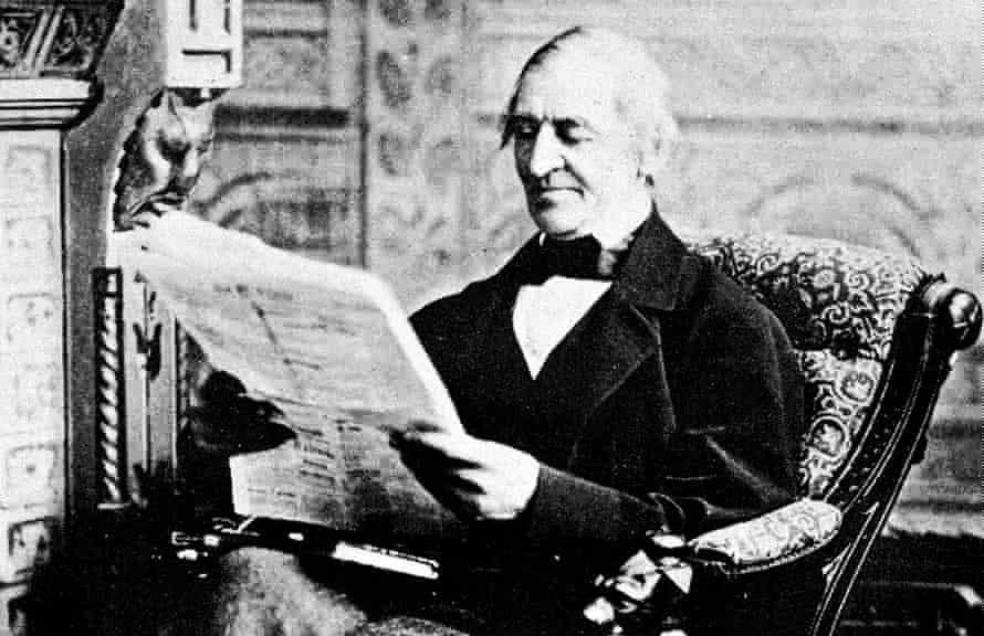 'Every evil to which we do not succumb is a benefactor' ... the 19th-century American poet Ralph Waldo Emerson.
