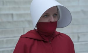 The clock is ticking ... June (Elisabeth Moss) in The Handmaid's Tale.