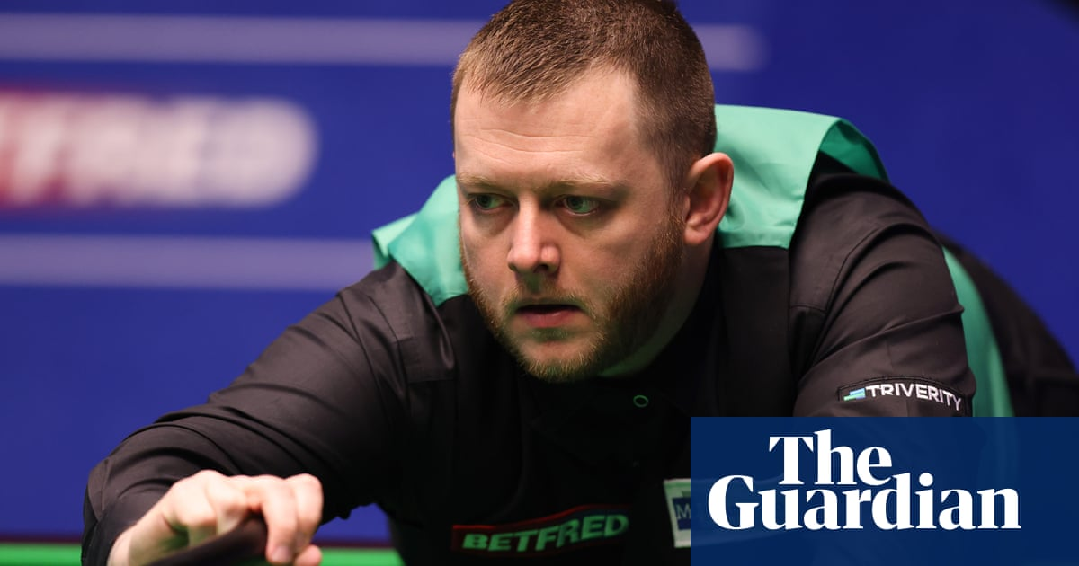 Mark Allen pays tribute to departing Barry Hearn after sealing Crucible win