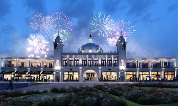 After decades in dire straits, Whitley Bay leads renaissance