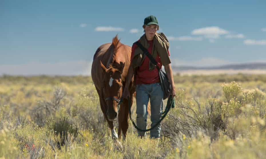 Charlie Plummer and his horse in Lean on Pete.