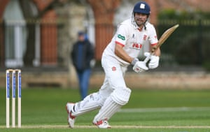 Sir Alastair Cook pinches a single.