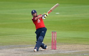 Bairstow hits for six.