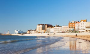 """""""View from beach of Margate, Margate, Kent, England"""""""