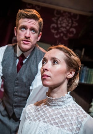 Brian Martin and Alix Dunmore in Jane Clegg.